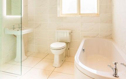 New Bathroom at Langford Villa, Filey