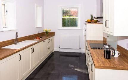 New Kitchen at Langford Villa, Filey