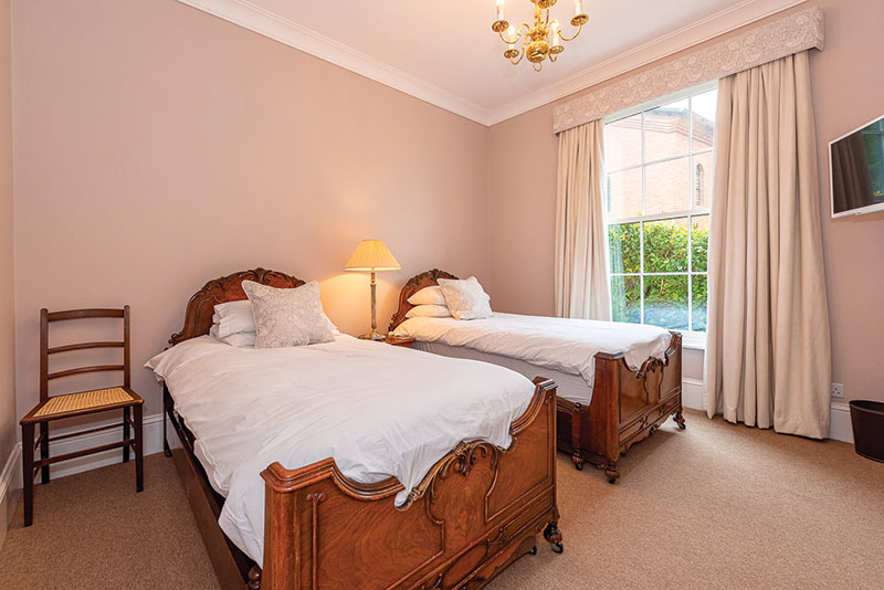 Twin Bedroom at Langford Villa, Filey