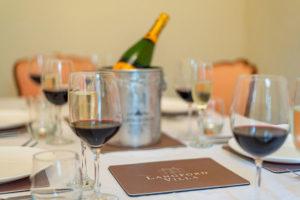 Dining at Langford Villa, Filey